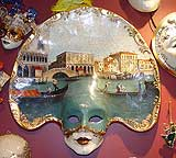 VENETIAN PAINTING ON MASK